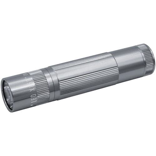 Maglite XL50 LED Flashlight (Silver, Clamshell Packaging)