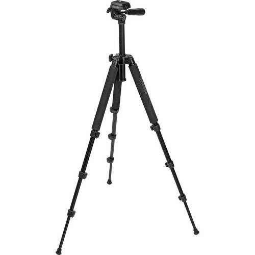 Magnus DI-3400 Photo Tripod With 3-Way Pan-and-Tilt Head