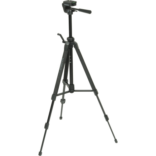 Magnus DX-3310 Deluxe Photo Tripod With 3-Way Pan-and-Tilt Head