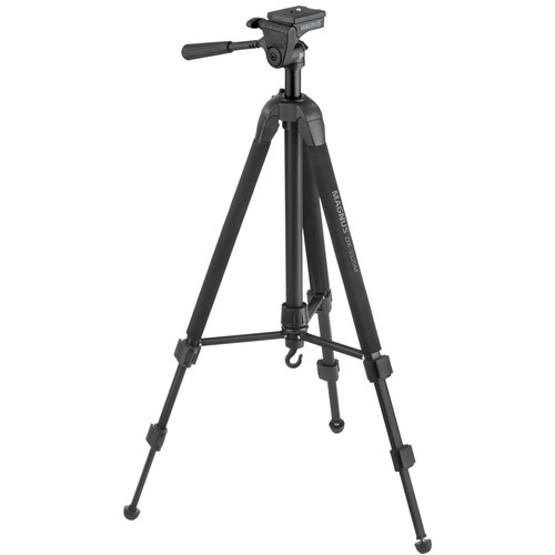 Magnus DX-3320M Deluxe Photo Tripod/Monopod With 3-Way Head