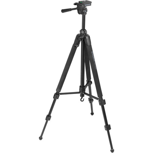 Magnus DX-3330 Deluxe Photo Tripod With 3-Way Pan-and-Tilt Head