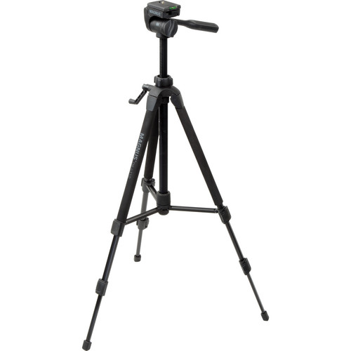 Magnus DX-4310 Deluxe Photo Tripod With 3-Way Pan-and-Tilt Head