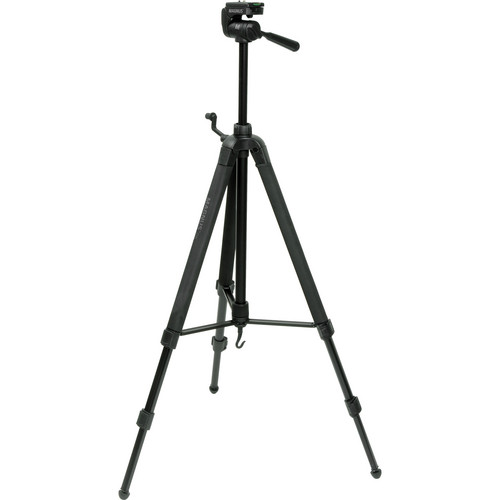 Magnus DX-5320 Deluxe Photo Tripod With 3-Way Pan-and-Tilt Head