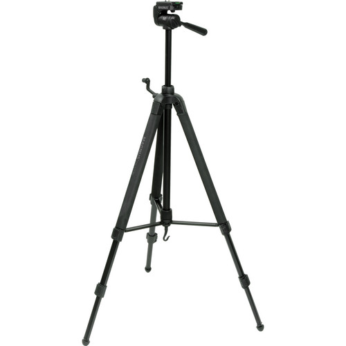 Magnus DX-5330 Deluxe Photo Tripod With 3-Way Pan-and-Tilt Head