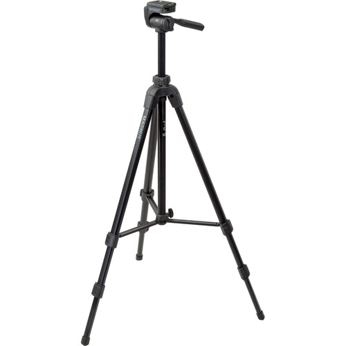 Magnus PV-5320 Photo Tripod With 3-Way Pan and Tilt Head