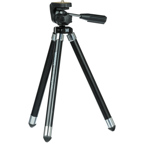 Magnus MegaPod PX Ultra Compact Tripod with 3-Way Pan and Tilt Head