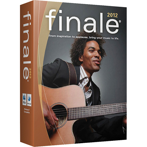 MakeMusic Finale 2012 - Professional Notation Software (Academic/Theological)