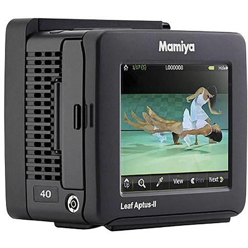 Mamiya Leaf Aptus-II 40 Digital Back (Contax 645AF)