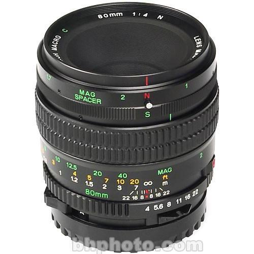 Mamiya Macro 80mm f/4 N Manual Focus Lens for 645