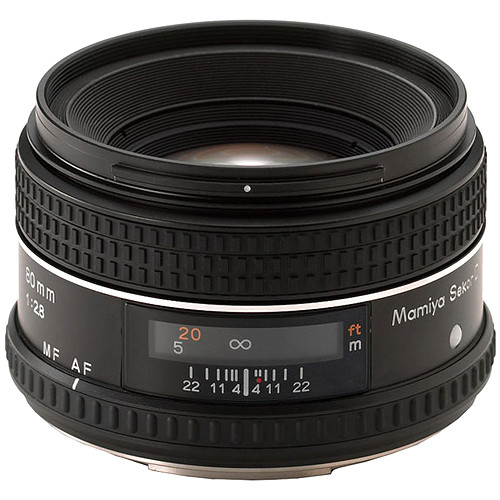 "Mamiya Normal 80mm f/2.8 Autofocus ""D"" Lens for 645AF"