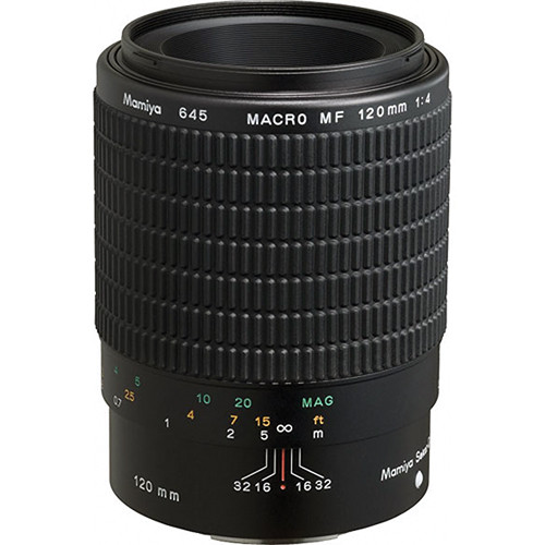 "Mamiya Macro 120mm f/4 Manual Focus ""D"" Lens for the 645 AFD-II"