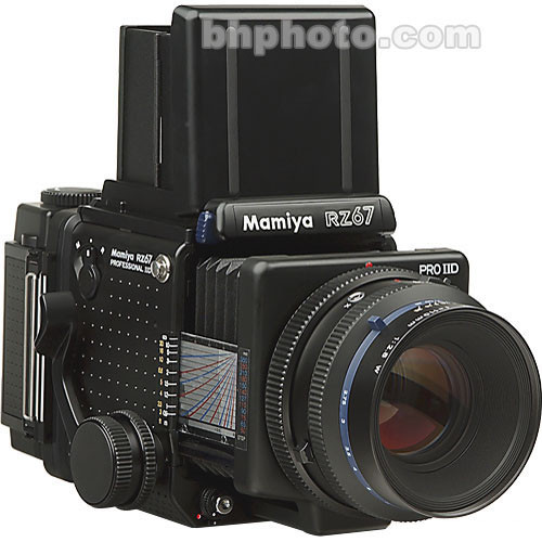 "Mamiya RZ67 Professional Pro II ""D"" Value Pack Medium Format SLR Camera Kit"