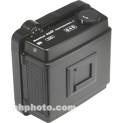 Mamiya Film Back 120 Pro II (6x4.5cm Format) for RZ67