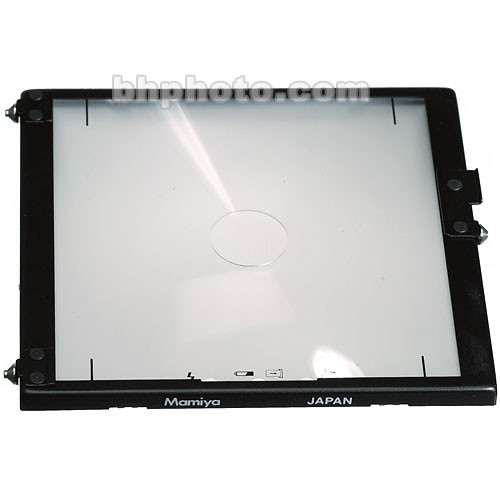"Mamiya Focusing Screen Type ""A"" (Standard Matte) for RZ67 Pro II"