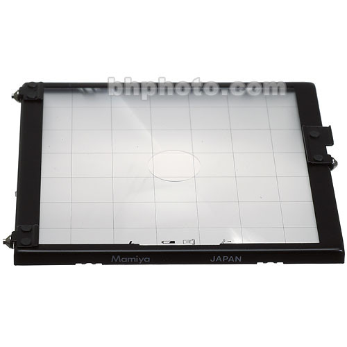 "Mamiya Focusing Screen Type ""A4"" Checker (with Grid Lines) for RZ67 Pro II"