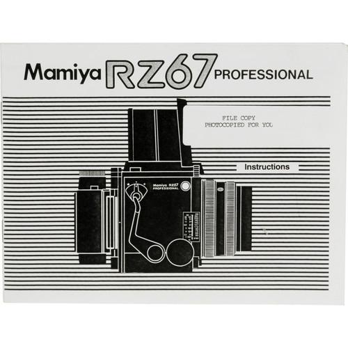 Mamiya Instruction Manual for RZ67