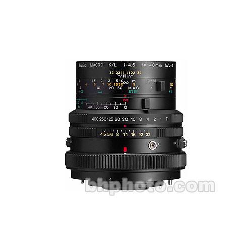 Mamiya K/L 140mm f/4.5 RB Lens