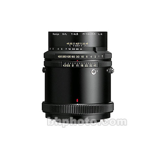 Mamiya K/L 180mm f/4.5 RB Lens