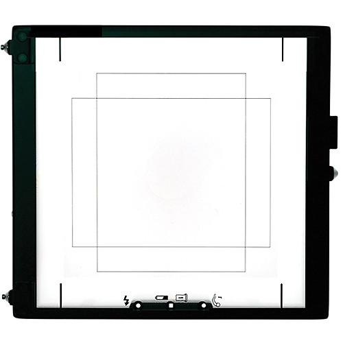 Mamiya 36 x 48 Focusing Screen for RZ67 Cameras and an Aptus II 7 Digital Back