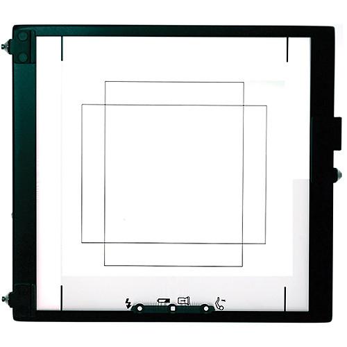 Mamiya 44 x 33 Focusing Screen for RZ67 Cameras and an Aptus II 8 Digital Back