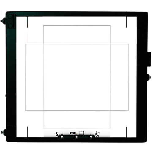 Mamiya 56 x 36 Focusing Screen for RZ67 Cameras and an Aptus II 10 Digital Back