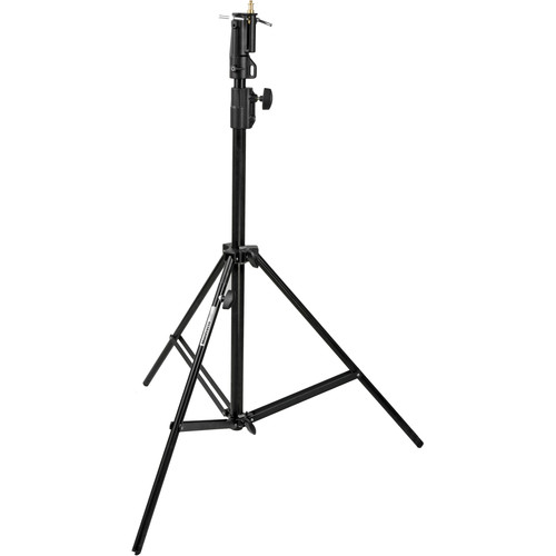 Manfrotto Alu Cine Air Cushioned Stand with Leveling Leg (Black, 7')