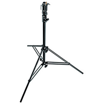 Manfrotto Stainless Steel Cine Stand with Leveling Leg (Black, 7')