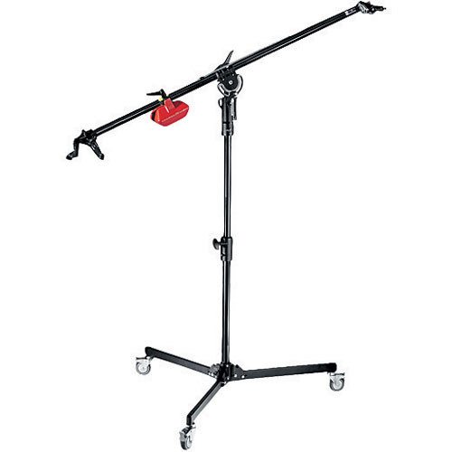Manfrotto 025TM Mini Super Boom with Column Stand, Black - 5.5' (1.7m)