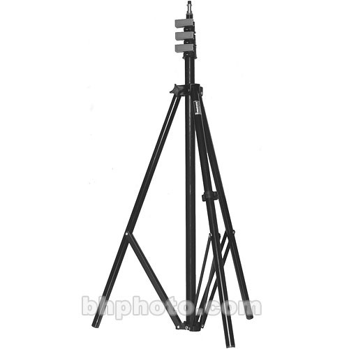 Manfrotto 3364QL Quick Lock Light Stand, Black - 11'