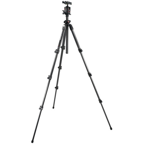 Manfrotto 055CXPRO4 Tripod with MH054M0-Q2 Pro Ball Head Kit