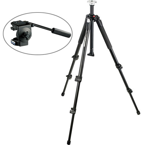 Manfrotto 055XB Tripod w/128RC Fluid Head