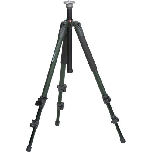 Manfrotto 055XV Outdoor Tripod Legs (Green) - Supports 15.4 lbs (7kg)