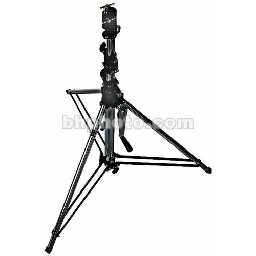 Manfrotto Short Wind-Up Stand (Black, 9')