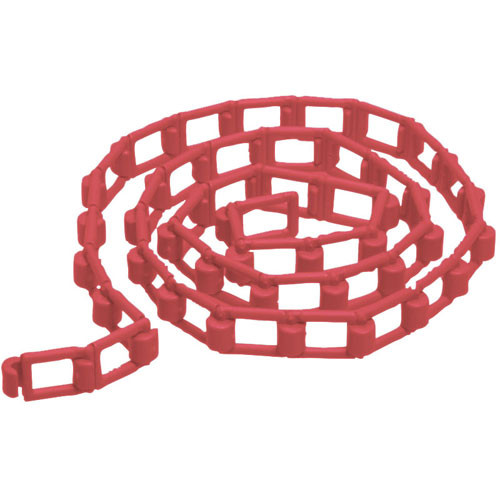 Manfrotto 091FLR Plastic Chain for Expan Drive Set, Red - 9.8' (3 m)