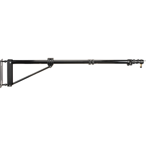 "Manfrotto 098B Wall Mounting Boom Arm, Black - 47.2-82.6"" (1.2-2.1m)"