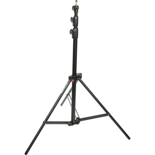 Manfrotto Alu Ranker Air-Cushioned Light Stand Quick Stack 3-Pack (Black, 9')