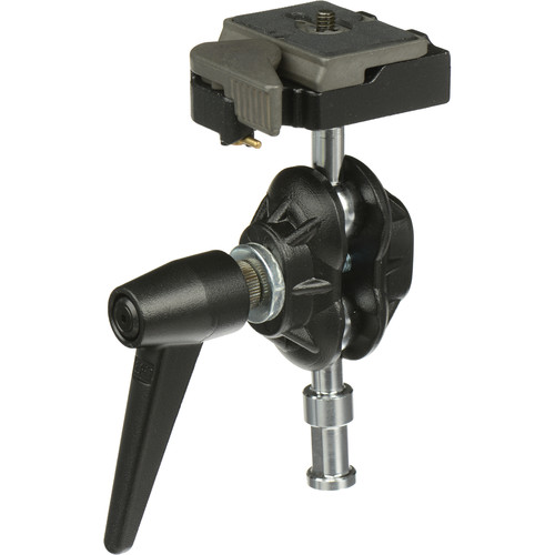 Manfrotto 155RC Double Ball Joint Head with Camera Platform/Quick Release
