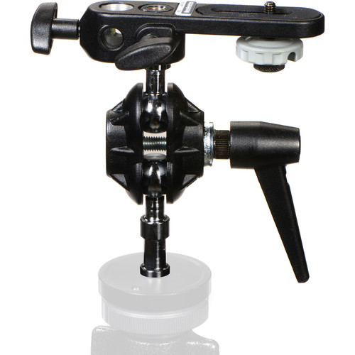 Manfrotto 155 Double Ball Joint Head with Camera Platform and 035 Super Clamp