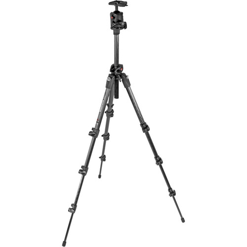 Manfrotto 190CXPRO4 Tripod with MH054M0-Q2 Ball Head Kit (Dark Gray)
