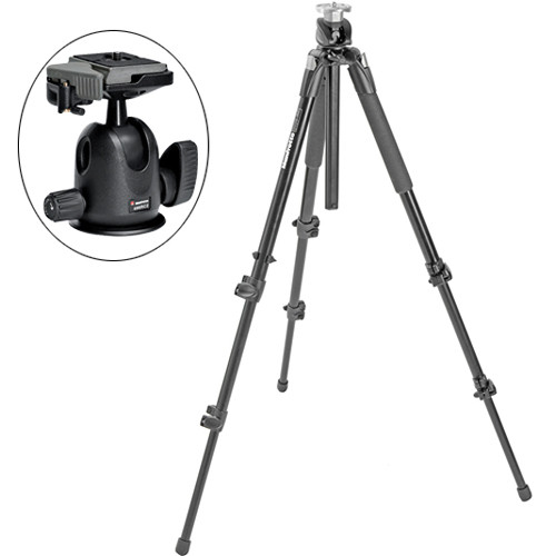 Manfrotto 190XPROB Pro Tripod with 496RC2 Ball Head Kit