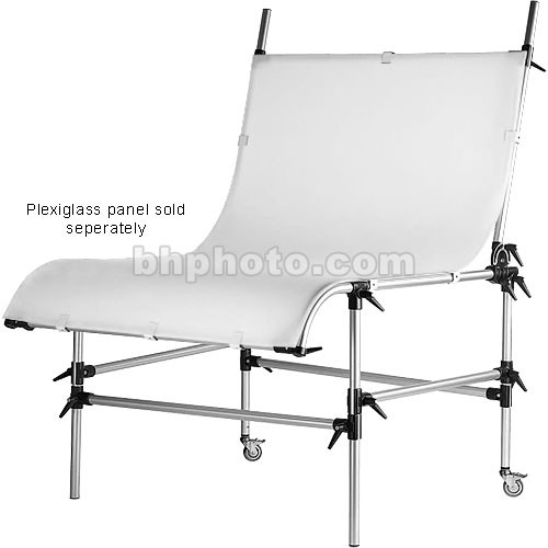 Manfrotto Still Life Shooting Table Frame Without Plexiglass Panel (Silver)