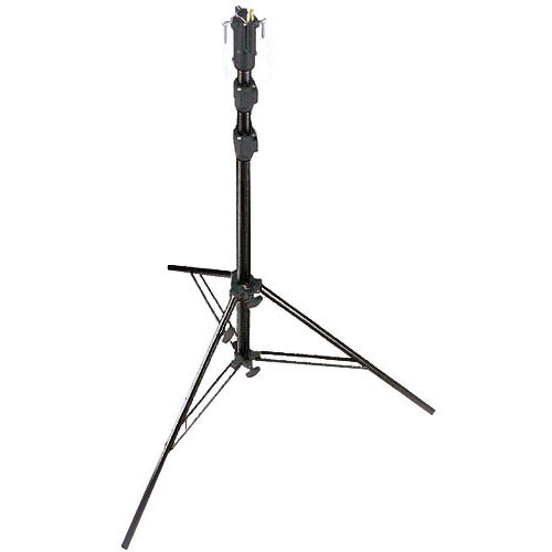Manfrotto 256BUAC-3 Self-Locking Air Cushioned Cine Stand, Black - 10.5' (3.2m)