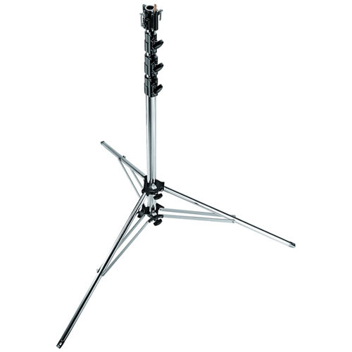 Manfrotto 270CSU Super Steel Cine Stand with Leveling Leg - 15.5' (4.7m)