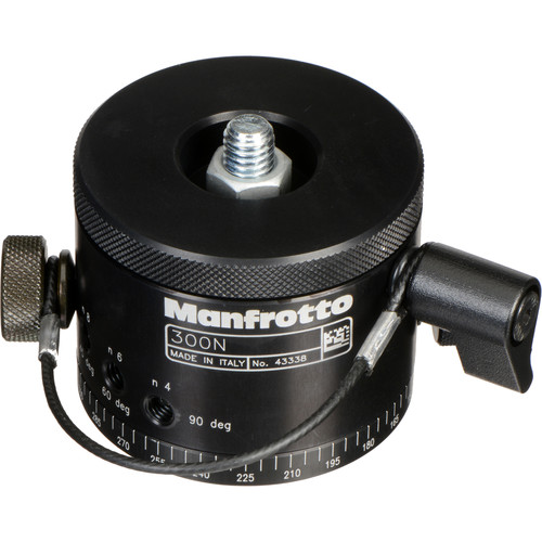 Manfrotto 300N (3414) Panoramic Head - Supports 31 lb (14kg)