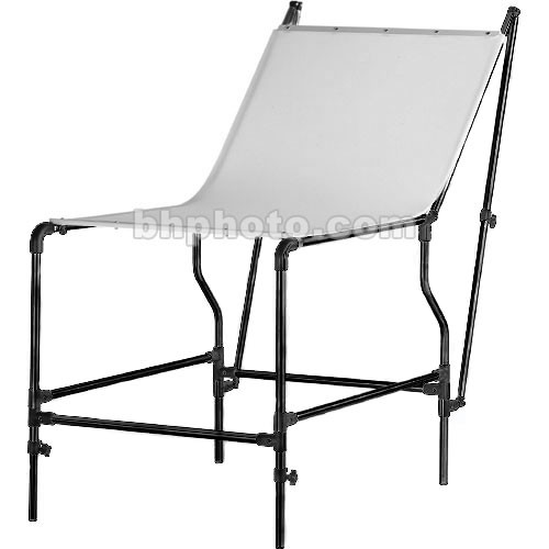 """Manfrotto 320 Mini Still Life Shooting Table (Black Frame) with 59 x 30"""" Plexiglass Panel"""