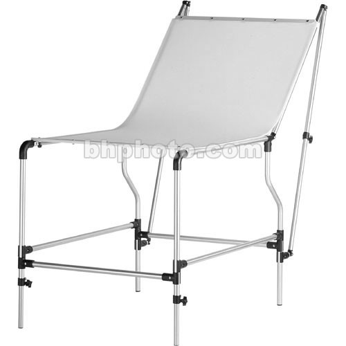 """Manfrotto 320 Mini Still Life Shooting Table with 59 x 30"""" Plexiglass Panel"""