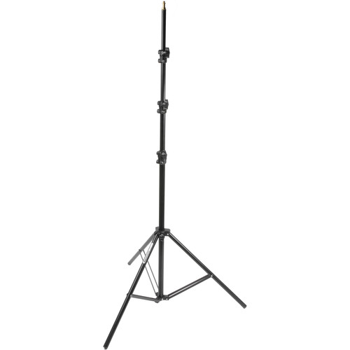 Manfrotto 368B Basic Black Light Stand - 11' (3.3m)