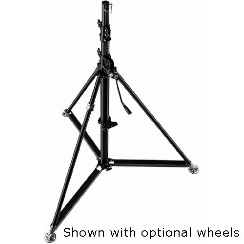 Manfrotto 387XBU Black Steel Super Wind-Up Stand - 12' (3.6m)