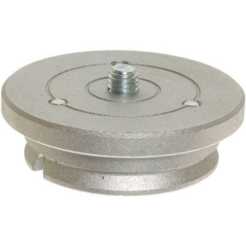 Manfrotto 400PL-MED Quick Release Plate (23mm) for 400 Deluxe Geared Head