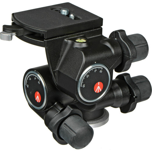 Manfrotto 410 Junior Geared Head - Supports 11 lbs (5kg)